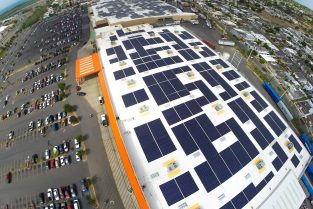 Toshiba Home Depot Roof-Mounted Solar Array – Ponce, Puerto Rico