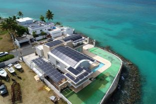 Waterfront Private Residence Solar System